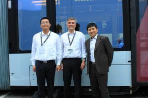 Dr. Dai, Prof. Niessner, Prof. Gao (Dalian Jiaotong University) 2016