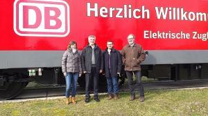 Besuch bei DB Fahrzeuginstandhaltung Dessau (2018)